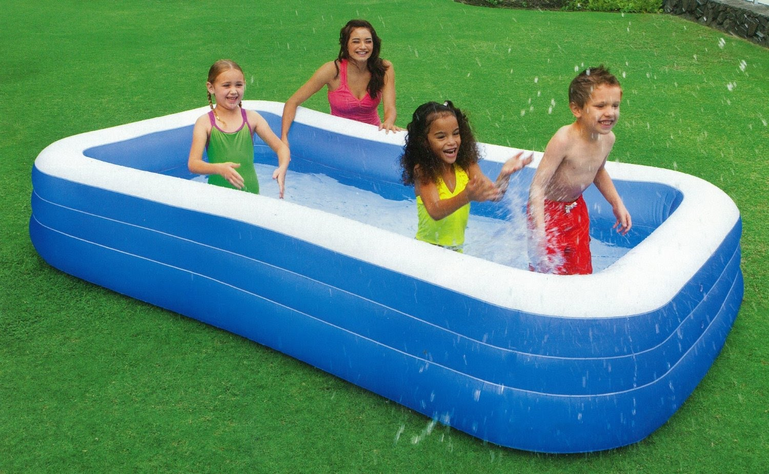 Intex rectagular pool aplus business link pvt ltd for Quick up pool 120 hoch